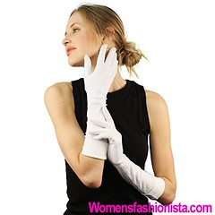 Super Matte Cuffed Blank Plain Evening Party Elbow Stretchy Church Gloves White (womensfashionista) Tags: blank church cuffed elbow evening gloves matte party plain stretchy super white