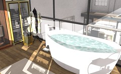 bathroom2 (BradleysDesigns) Tags: bathroom loft spa manicure pedicure massage sauna modern pamper decor decorating homey
