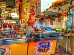 Concentration.... (Sherrianne100) Tags: colorful streetphotography streetfood bordeaux france