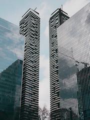 Condo living (Richard Pilon) Tags: ontario toronto olympus architecture urban