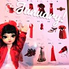 Sofie is very excited to match the fancy Met Costume Institute calendar. #bjd #superdollfie #volksdoll #スーパードルフィー #幼SD #yosd (snowgray.beautywhite) Tags: bjd superdollfie volksdoll スーパードルフィー 幼sd yosd
