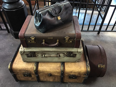 Old Luggage (The.Mickster) Tags: luggage themepark orlando harrypotter vacation kingscrossstation holiday universalstudios