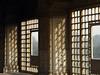 Marble lattice windows in the Red Fort in Delhi, India (albatz) Tags: delhi india architecture redfort fog decorative marble carved stone windows