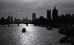 Into the light (David Feuerhelm) Tags: bridge tower nikkor buildings blackandwhite bw noiretblanc schwarzundweiss thames london england light silverefex nikon d750 nikkor2470mmf28 uk