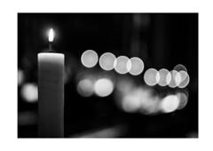 Candle (dave_stobie) Tags: fujifilm helios 44m helios44m ussr xt20 bw blackandwhite candle church flame light salisbury