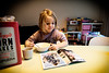 sunday breakfast (kceuppens) Tags: breakfast ontbijt sunday zondag cornflakes reading magazine lezen melk milk kind child girl meisje frederieke nikond810 nikon d810 nikkor247028vr nikkor 2470 kelloggs