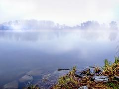 Lake_Naplas_with_fog (Dreamaxjoe) Tags: naplástó lakenaplas fog köd budapest
