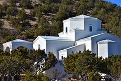 Neighborhood church (thomasgorman1) Tags: church orthodox neighborhood junipers juniper trees atchitecture building nikon white hill nm outdoors
