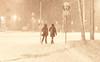 Snow Budget (offroadsound) Tags: snow neige schnee nieve winter hiver invierno heykey pedestrians snowfall