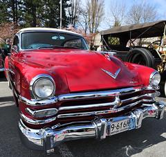 1953 Chrysler New Yorker DeLuxe 2-door hardtop (D70) Tags: 1953 chrysler oakridge easter car show 2012 youtubec0yytwtxbgu new yorker deluxe 2door hardtop