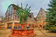 Tauberbischofsheim im Dezember