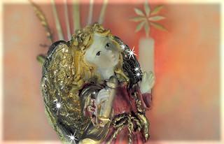 golden angel - Weihnachtsengel