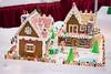 gingerbread homestead (raspberrytart) Tags: festivaloftrees christmas gingerbread gingerbreadhouse gingerbreadcookie cookie candy decorating nikon d7100