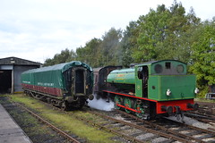Hunslet 0-6-0ST 3694 Whiston (Will Swain) Tags: foxfield railway 24th september 2017 train trains rail railways transport travel uk britain vehicle vehicles country england english north west potteries hunslet 060st 3694 whiston