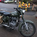 Royal Enfield in Green
