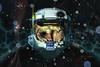 Blast Point Blue (margotd2) Tags: halo blue fractals space scifi helmet blast blastpoint shiny abstract gamer