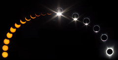2017 Eclipse (ChristinaForever) Tags: 2017eclipse eclipse totality space sun moon composite longexposure