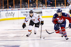 "Kansas City Mavericks vs. Kalamazoo Wings, January 5, 2018, Silverstein Eye Centers Arena, Independence, Missouri.  Photo: © John Howe / Howe Creative Photography, all rights reserved 2018. • <a style=""font-size:0.8em;"" href=""http://www.flickr.com/photos/134016632@N02/25707980838/"" target=""_blank"">View on Flickr</a>"