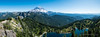 Mount Rainier from Tolmie Peak (Justy.C) Tags: cascademountainrange eunicelake landscapephotography mountrainiernationalpark summer tolmiepeak tolmiepeaktrail