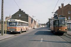 SNCV-MNVB 3534 / SNCV-MNVB 9184-80 (Public Transport) Tags: bus trams tramways busen sncv nmvb