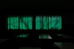 in the classroom (Emanuela Pepe) Tags: fujix classroom closed banchi verde