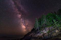 Sand Beach Milky Way 6 - Acadia National Park (Dino Sokocevic) Tags: acadia nationalpark national usa maine newengland milkyway stars astrophotography nikon tokina darkness dark nikonusa mefoto