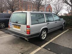 Volvo 940 (Sam Tait) Tags: 23 1997 beeston rare retro wagon silver estate 945 940 volvo