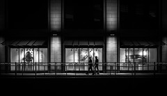 post Christmas shopping (ThorstenKoch) Tags: street streetphotography stadt strasse schatten shadow silhouette schwarzweiss winter city cold christmas fuji fujifilm throwback thursday blackwhite bnw flickr pov photography people photographer picture pattern place licht lights lines linien light düsseldorf duesseldorf germany night nacht candit christmasshopping bridge