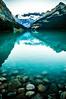Lake Louise (Beangrau12) Tags: lakelouise banffnationalpark albertacanada water glacier reflection rocks sky mountains