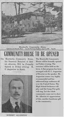 Monticello, IL Community House on S. Charter St donated by R.H. Allerton 1921-08- (RLWisegarver) Tags: piatt county history monticello illinois usa il