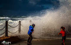 tempest in the port of jaffa1 (tchia sheffer) Tags: tempest kides motion storm sea water waves