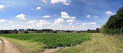 Burnham Overy Town (Worthing Wanderer) Tags: norfolk summer sunny farmland coast seaside nelson holkham burnham hero august
