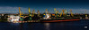 Les torres grogues. (.carleS) Tags: caeduiker canon eos 60d port mar bàltic riga grues grua groc groga