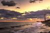 """Ocaso en la costa"" (Raúl Mancilla) Tags: mar atardecer océano agua playa arena luz naranja amarillo nubes olas espuma hdr ocaso rocas rocks sea clouds sand sunset twilight orange yellow light waves foam paisaje landscape"