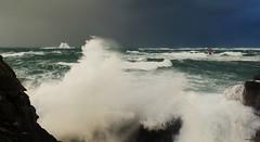Presqu'île Saint-Laurent, Porspoder (gaelkervarec) Tags: tempete phare four porspoder éclat storm bretagne brittany finistere
