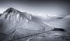 From Chrulaiste in Mono (Scott Robertson (Roksoff)) Tags: beinnachrulaiste a82 lochanachlaise lochanstainge blackmount lochba rannochmoor glencoe scottishhighlands scotland meallabhuiridh criese buachailleetivemor winter snow ice frozen water mountains outdoors landscape nikond810 1635mmf4 leefilters buachaillleetivemor mono blackandwhite thethreesisters devilsstaircase
