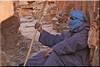 the guide (mhobl) Tags: amtoudi guide berber antiatlas morocco blue