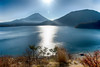 Fuji in backlight at Lake Motosu (shinichiro*@OSAKA) Tags: 南巨摩郡 山梨県 日本 jp 20171210ds50405hdr 2017 crazyshin 2016 nikond4s afsnikkor2470mmf28ged december winter fuji lakemotosu 38270628045