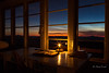 A time for reflection.  Solstice Greetings! (D. Inscho) Tags: candle interior night firelookout washington northcascades