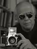 Selfie with Exakta Varex IIa and Steinheil Auto-Quinon 55mm  1:1.9 (Juan Felipe Gómez T) Tags: olympusevolt420 meyeroptik meyerdomiplan exakta exaktavarexiia portrait selfportrait triplet lens