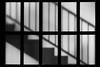 Aufwärts ... (Klaus Fritsche) Tags: düsseldorf nachtaufnahmen schwarzweis blackandwhite