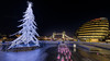Rockin around the christmas tree (Andrew Thomas 73) Tags: london england unitedkingdom gb nikond850 cityhall towerbridge night morelondonriverside nikon 1424 f28