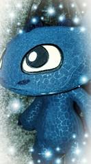 Gab es für mich zu Weihnachten: Drachenzähmen leicht gemacht - MARK II. (eagle1effi) Tags: pet toothlessdragon dragon toothless blue voice roterschwanz tschibby nightmare guardian chibbi chibi