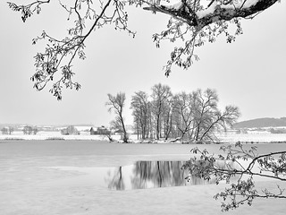 Home Sweet Home Winter Panorama