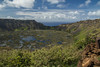 Rano Kau crater (Marion McM) Tags: crater volcano extinct rapanui easterisland chile pacificocean clouds remote landscape canoneos760d