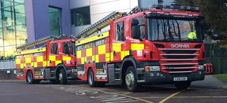 Herts Fire & Rescue Hemel Hempstead Pumps