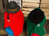 Indio Women hiding (klauslang99) Tags: klauslang streetphotography people clothing attire hats indio women dress ecuador cuenca colour color