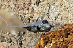 323 TES (Dafydd RJ Phillips) Tags: 323 tes royal netherlands air force f35 f35a edwards base afb rainbow canyon star wars jedi transition death valley california lightning pilot jet fighter evaluation sqnsquadron test aircraft sqn squadron