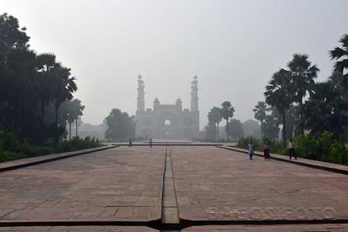 Sikandra - Nagy Akbar mauzoleuma - deli kapu38
