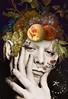 lou nature (victoria.amodeo) Tags: digital art digitalart collage collageart deadnature portrait lou reed fruit